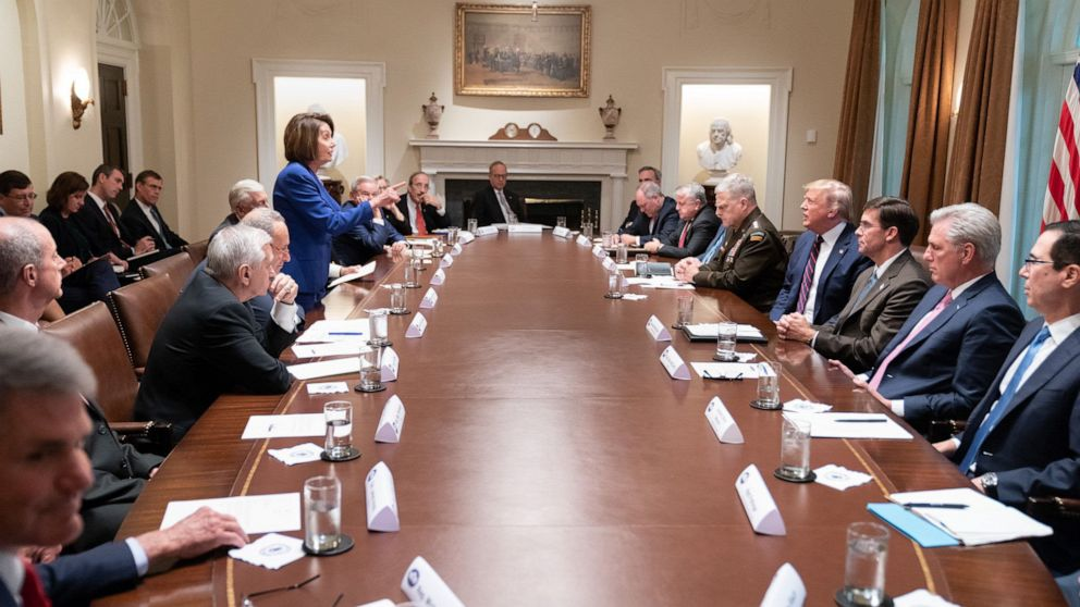 The story behind that photo of Pelosi, Trump and an angry White House meeting