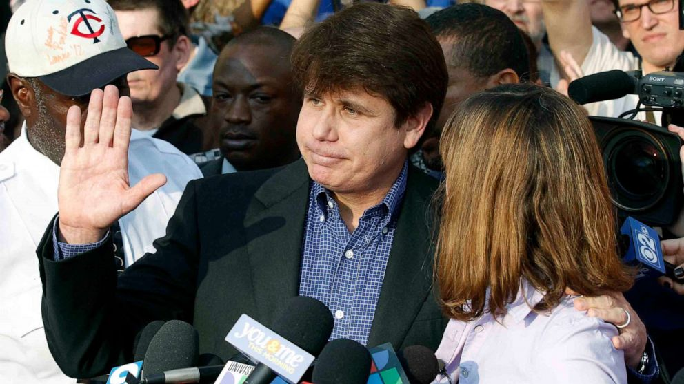 Trump says he's commuted the sentence of former Illinois Gov. Rod Blagojevich – ABC News