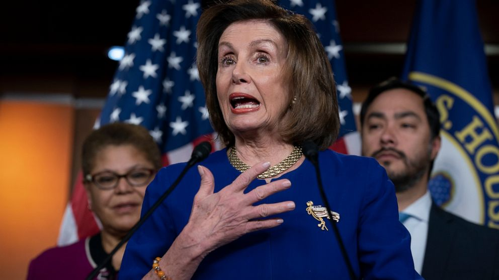 Pelosi lambastes Facebook over Trump ad a week before census
