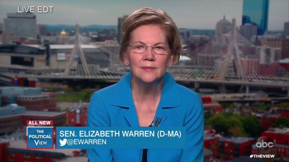 Warren talks endorsement as Democratic primary officially becomes two-person race