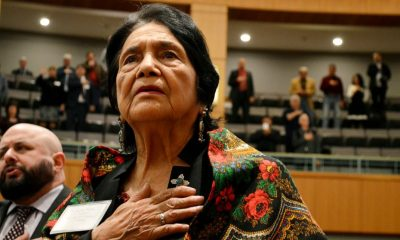 Biden Joe Biden gets backing of key Latina activist Dolores Huerta
