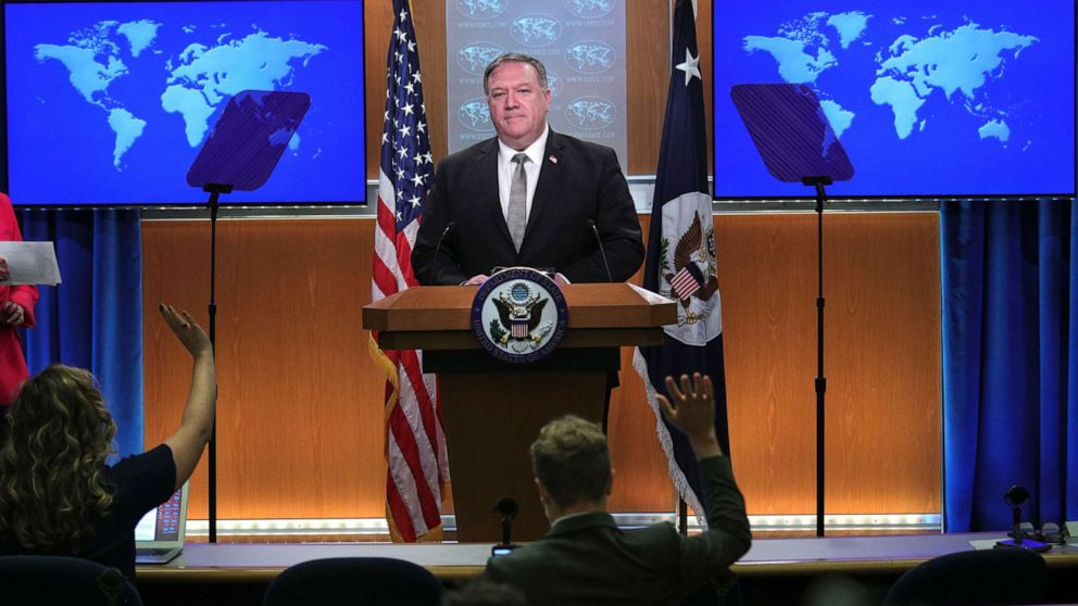 Bernie Sanders Despite world's highest death toll, US is 'world leader' in COVID-19 response: Pompeo