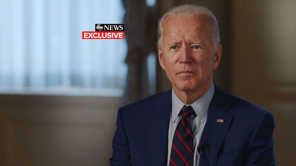Biden Muir presses Biden: Can you win a presidential election from home? 'We will'