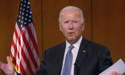 Biden Biden discusses healthcare plan at Dem convention