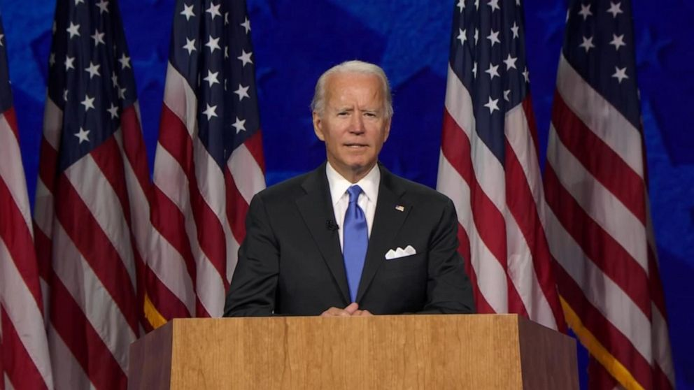 Biden WATCH: Joe Biden accept Democratic Party's nomination