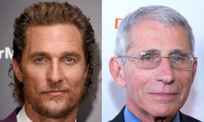 Cronavirus  covid-19 Matthew McConaughey grills Dr. Fauci in interview on COVID-19