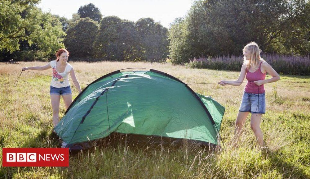 Bernie Sanders Camping gear sales jump amid staycation boom
