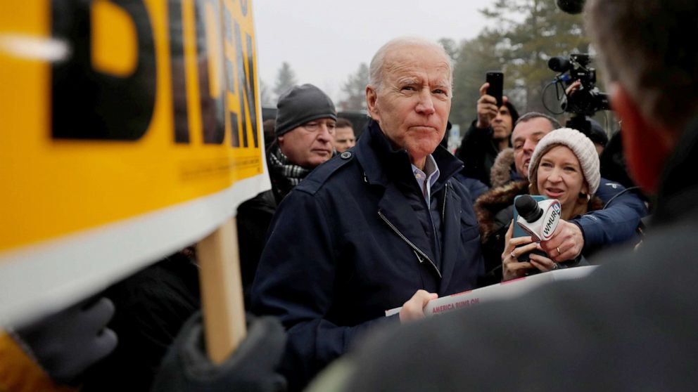 Despite rocky primary start, Biden says he's still the best candidate to 'beat Trump'
