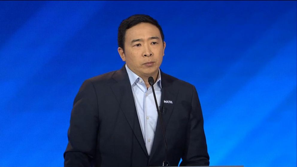 WATCH: Andrew Yang endorses Joe Biden