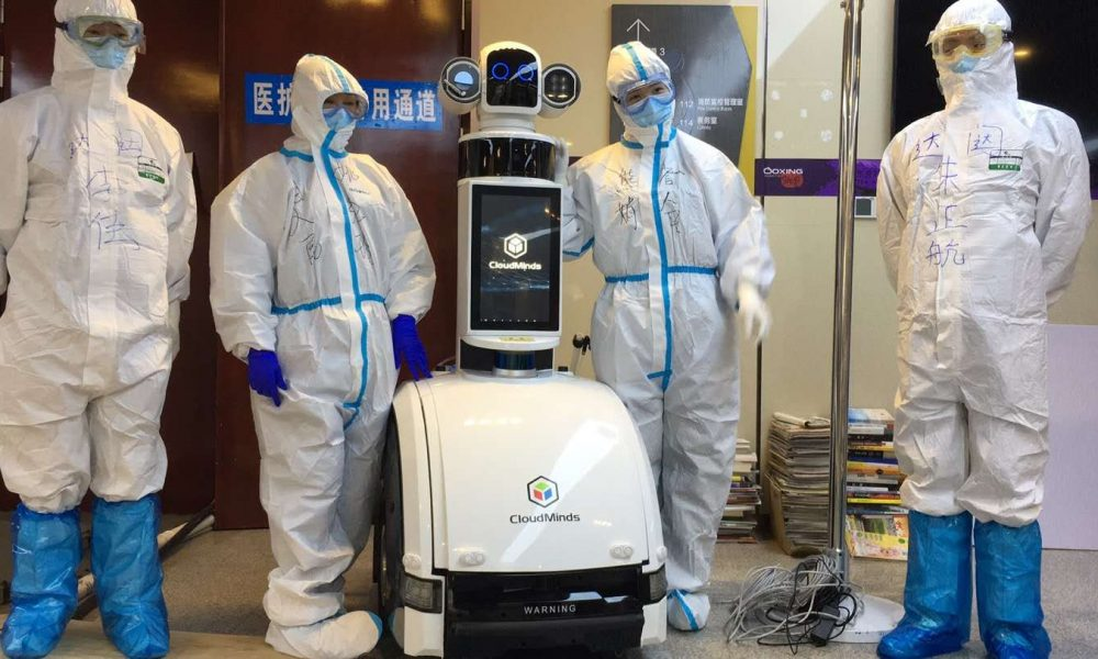 Look inside the hospital in China where coronavirus patients were treated by robots