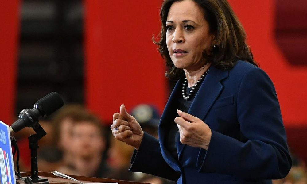 Bernie Sanders Kamala Harris proposes monthly income boost during COVID crisis