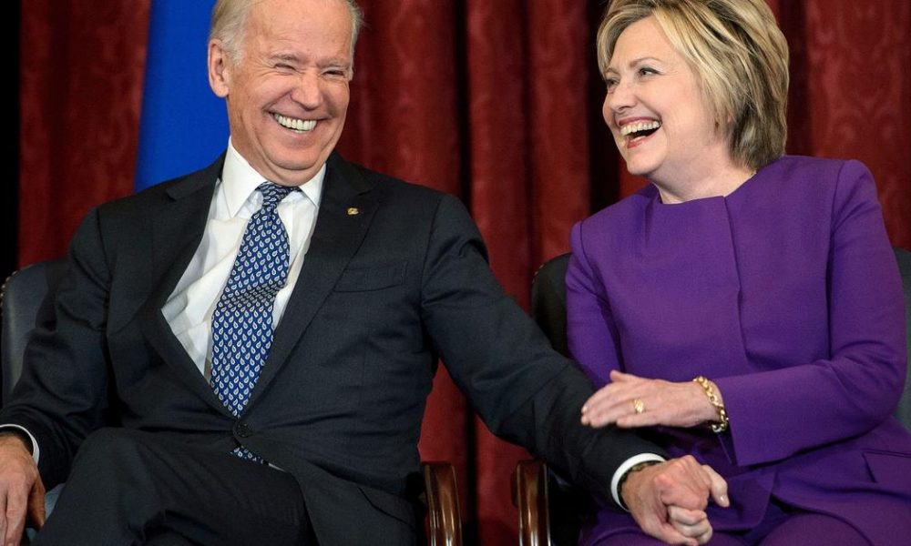Bernie Sanders Hillary Clinton endorses Joe Biden for president