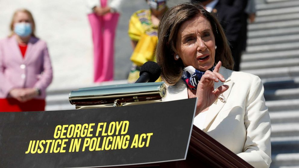 Pelosi House bill expected to force standoff with GOP over policing