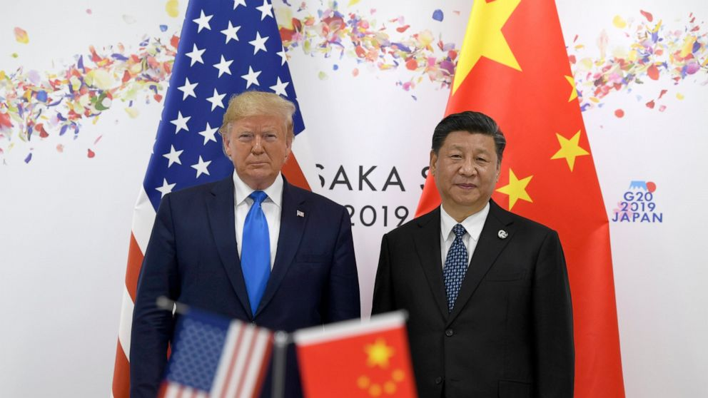 Biden Trump, Biden try to outdo each other on tough talk on China