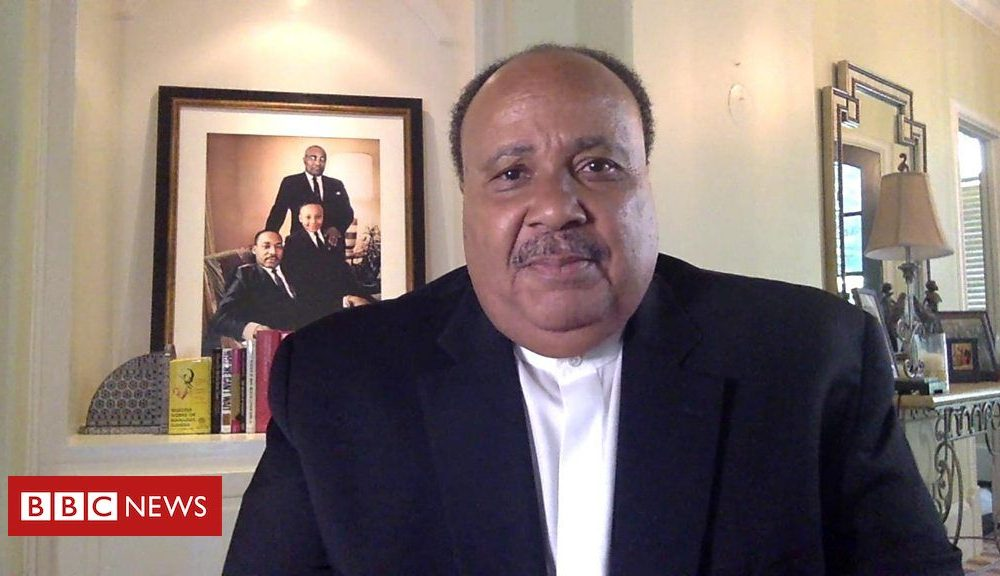 Bernie Sanders Martin Luther King III: 'John Lewis was 'a giant'