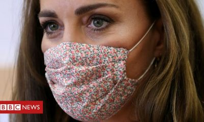 Bernie Sanders Coronavirus: Kate wears a mask for first time on charity visit